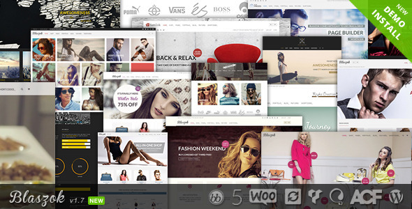 Blaszok - Ultimate Multi-Purpose Responsive Theme - WooCommerce eCommerce