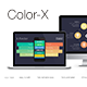 Color-X Keynote Template - GraphicRiver Item for Sale