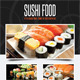 Sushi Restaurant Menu Flyer V01 - GraphicRiver Item for Sale