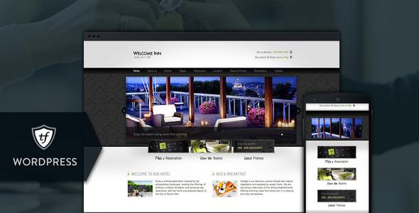 Welcome Inn - Hotel WordPress Theme - Travel Retail