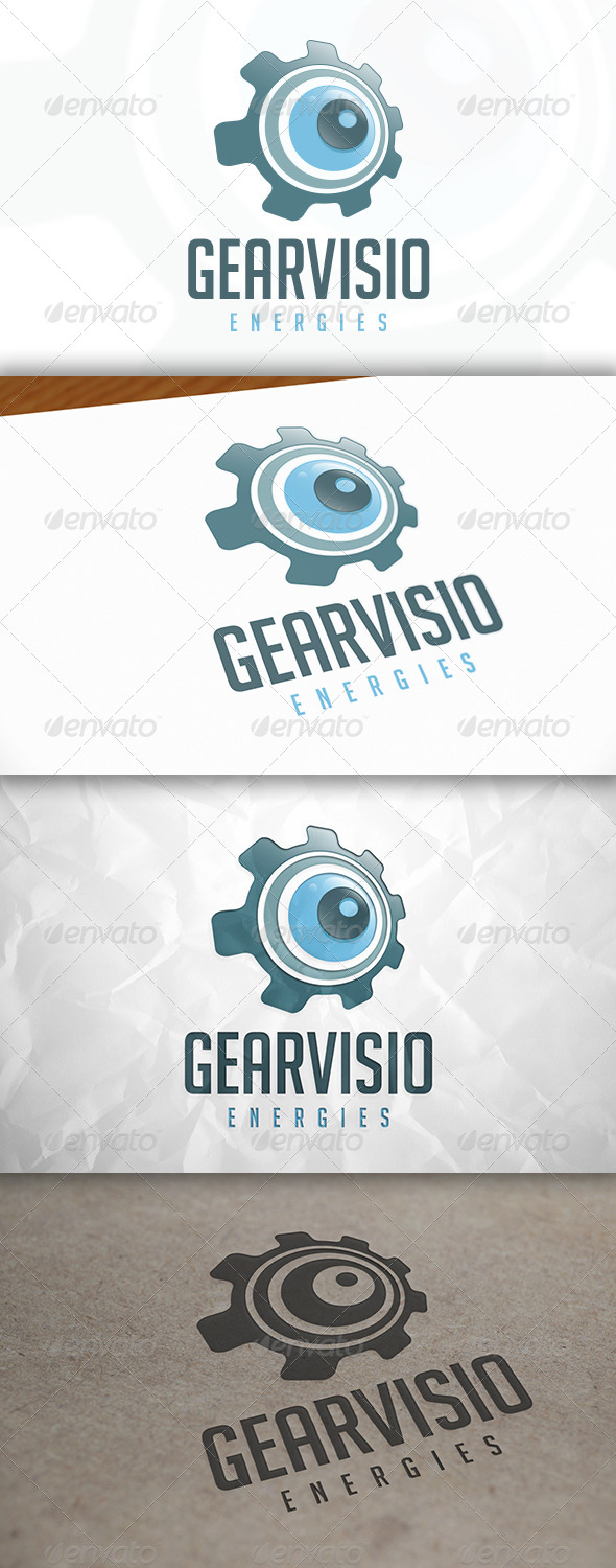 GraphicRiver Eye Gear Logo 8366091