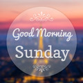 Good Morning Sunday on Eiffle Paris blur background - PhotoDune Item for Sale