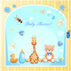 Baby Shower Card with Toys - GraphicRiver Item for Sale