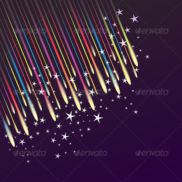 GraphicRiver Abstract Fireworks Background 8366237
