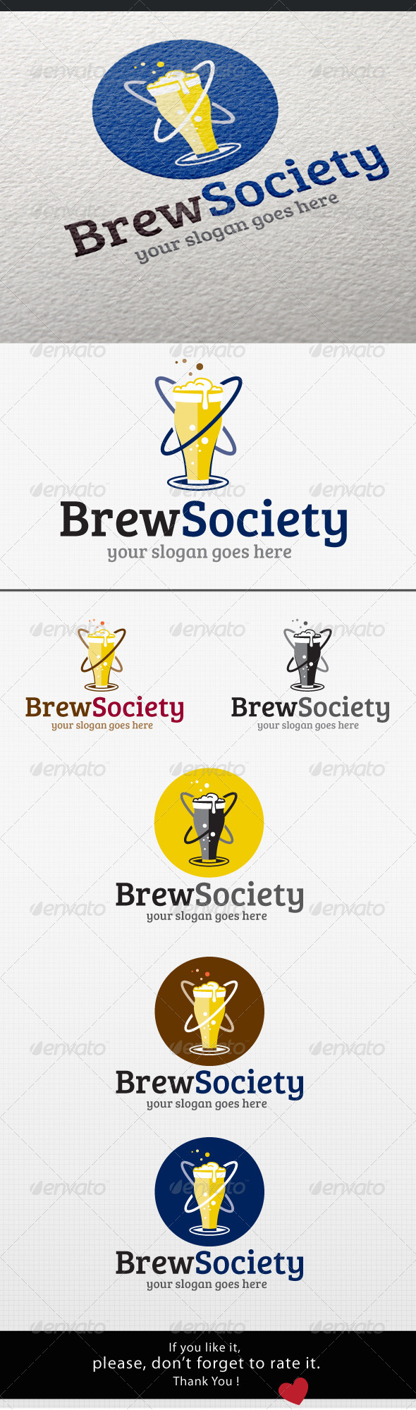 GraphicRiver Beer Logo 8366247