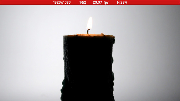 Backlight Candle 02