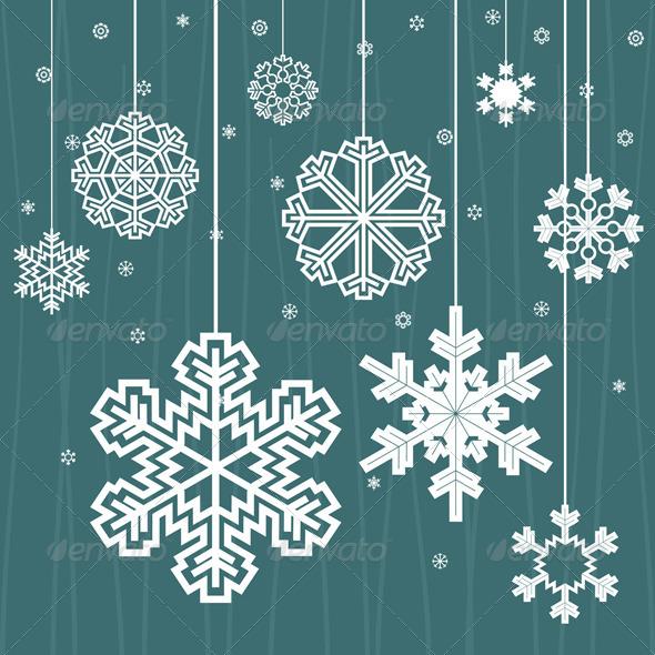 Graphic River Christmas snow Vectors -  Conceptual  Seasons/Holidays  Christmas 849912