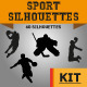 Sport Silhouette Kit - GraphicRiver Item for Sale