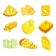 Whole Cheese Icons - GraphicRiver Item for Sale