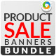 Product Sale Banner Bundle - 3 Sets