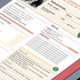 Curriculum Vitae - Colorful and Clean