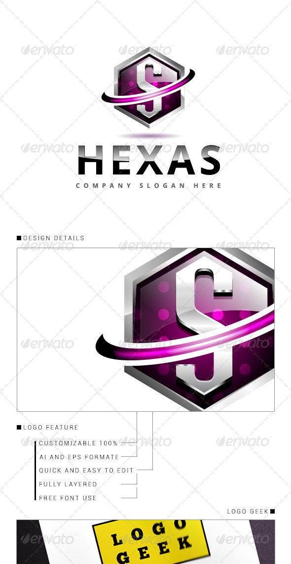 GraphicRiver Hexa Logo 3D V.2 8368203