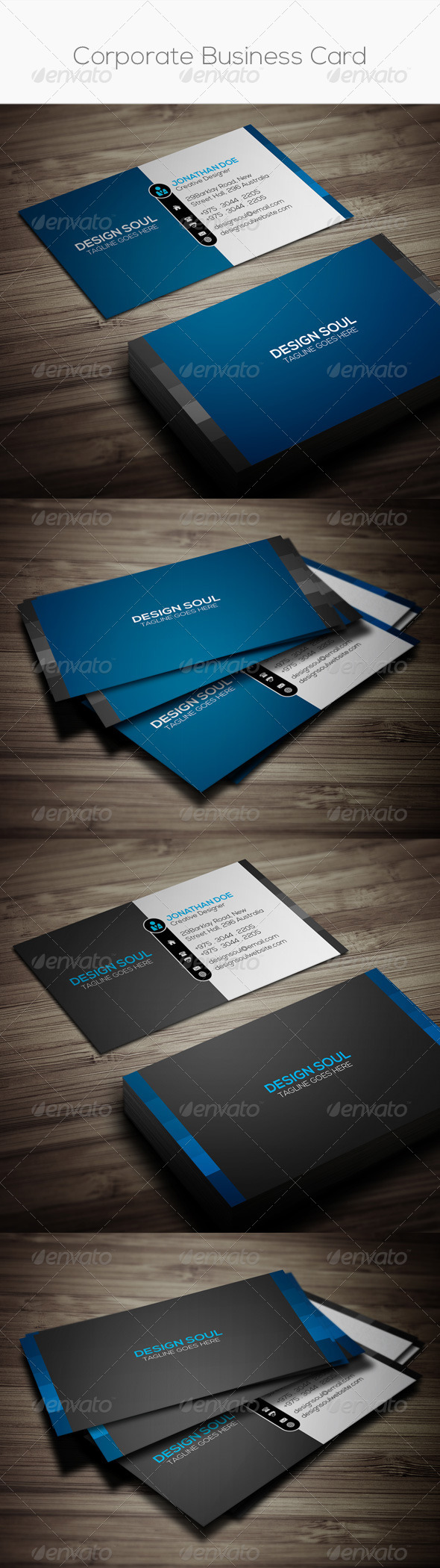 GraphicRiver Corporate Business Card 8368222