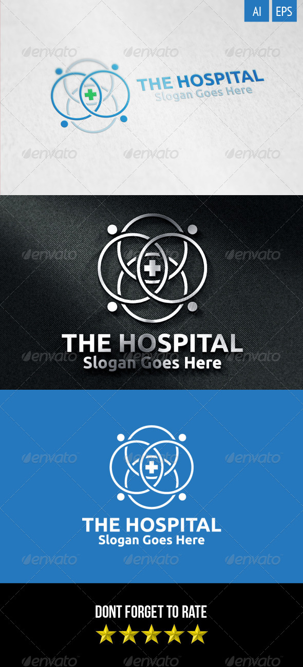 GraphicRiver The Hospital Logo 8368344