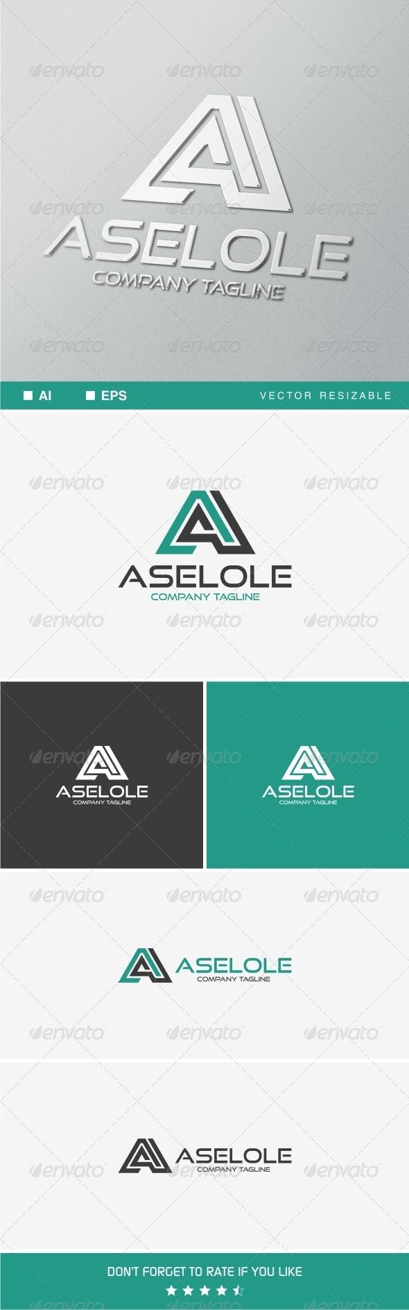 A Letter v.3 Logo Template