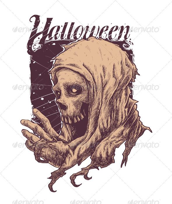 GraphicRiver Grim Reaper 8368541