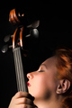 Woman With Cello - PhotoDune Item for Sale
