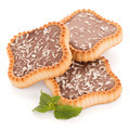 Chocolate tart cookies - PhotoDune Item for Sale