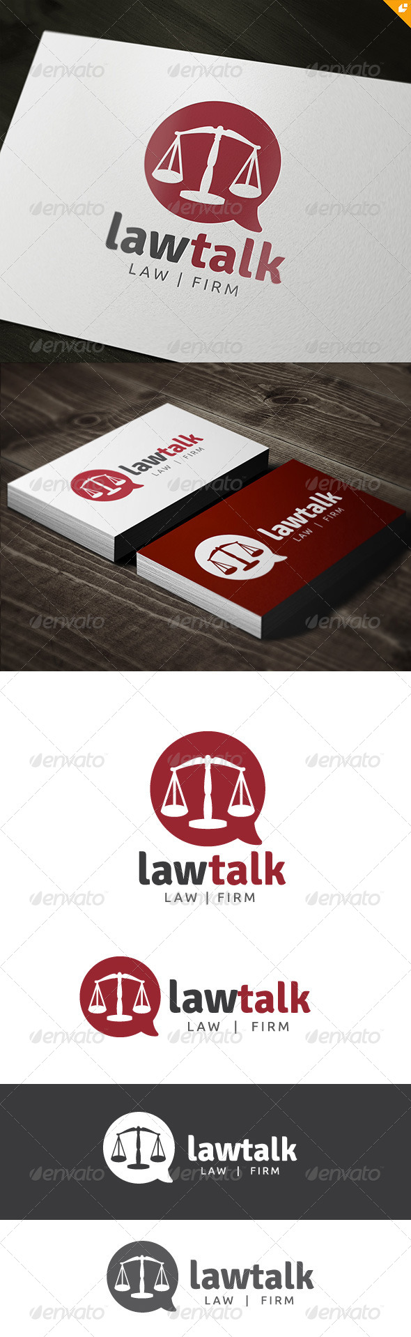 GraphicRiver Law Talk Law Firm 8369714