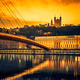 View of Saone river at sunset - PhotoDune Item for Sale