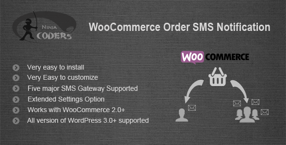 CodeCanyon WooCommerce Order SMS Notification 8339735