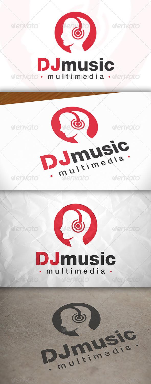 GraphicRiver Dj Music Logo 8369966