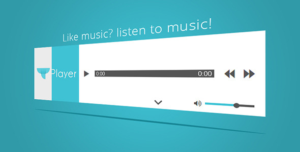 CodeCanyon tPlayer HTML5 audio player with playlist 8296578