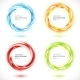 Set of Abstract Swirl Circles - GraphicRiver Item for Sale