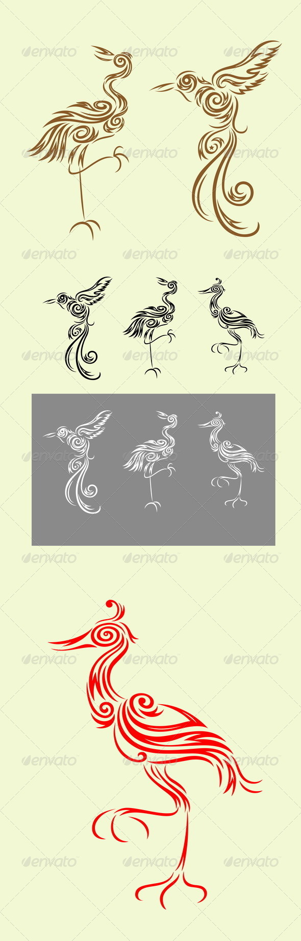 GraphicRiver Heron and Friends 8370531