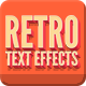 Vintage Retro Text Effects - GraphicRiver Item for Sale