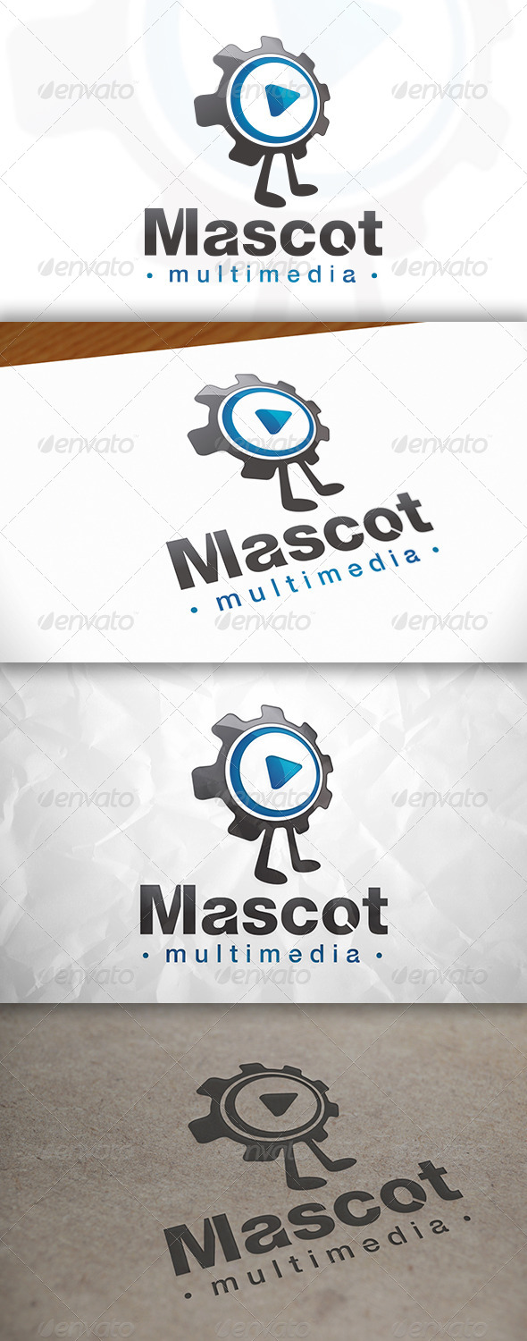 GraphicRiver Multimedia Mascot Logo 8370940