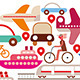 Round Travel and Transport Icon - GraphicRiver Item for Sale