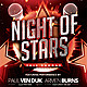 Night of Stars Flyer - GraphicRiver Item for Sale