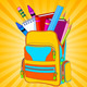 Full Backpack - GraphicRiver Item for Sale
