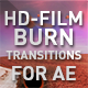 HD Film Burn Transitions - VideoHive Item for Sale