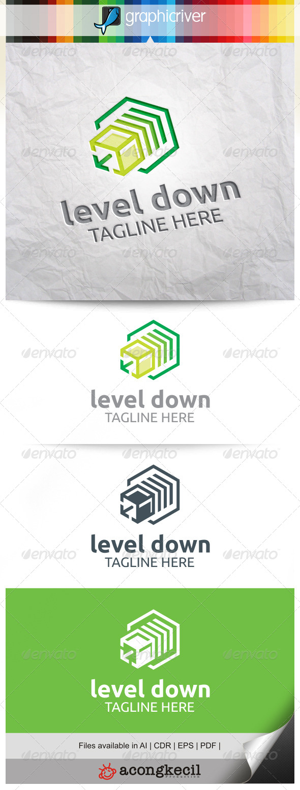 GraphicRiver Level Down 8371729