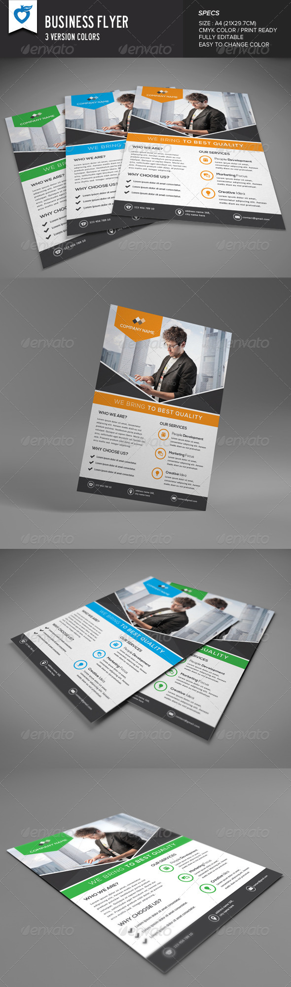 GraphicRiver Business Flyer Multipurpose 8372360