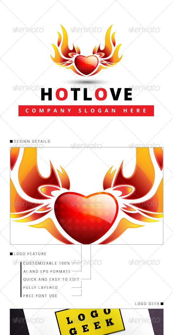 GraphicRiver Hot Love 3D Logo 8353024