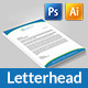 Corporate Letterhead Pad - GraphicRiver Item for Sale
