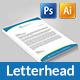 Corporate Letterhead Pad - GraphicRiver Item for Sale