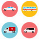 Vector Transportation Flat Icon