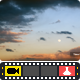 Clouds With Rising Moon - VideoHive Item for Sale