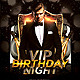 Vip Birthday Night   - GraphicRiver Item for Sale