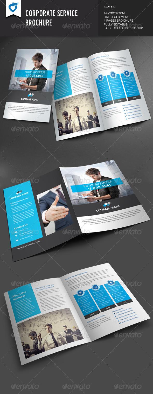 GraphicRiver Corporate Service Brochure 8366806