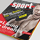 25 Pages Sport Magazine Vol66 - GraphicRiver Item for Sale