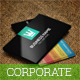 Jargon Corporate Business Card - GraphicRiver Item for Sale