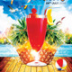 Tropicals Party Flyer Template
