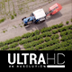 Long Aerial Tractor Shot - VideoHive Item for Sale