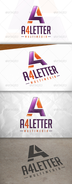 GraphicRiver A 4 Letter Logo 8373353