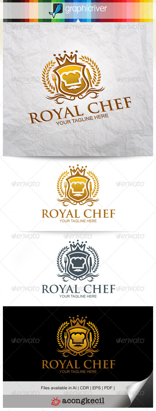 GraphicRiver Royal Chef 8373352
